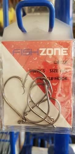 Circle hooks size 6/0 - super strong, super sharp